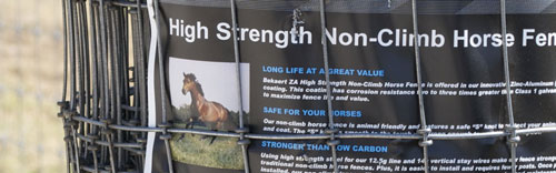 SASCO Horse fence