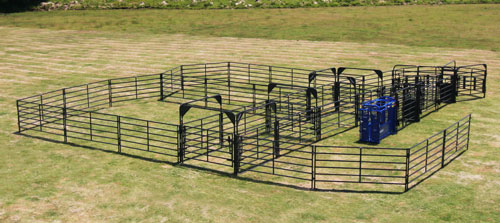 Priefert Corral Fence