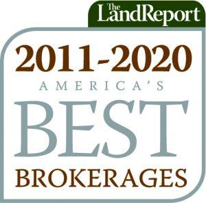 The Land Report Best Brokerages Award